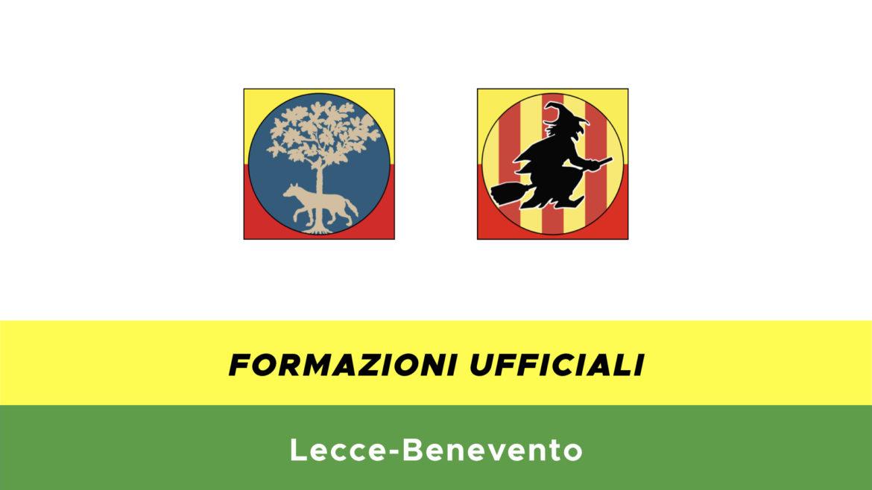 Lecce-Benevento formazioni ufficiali