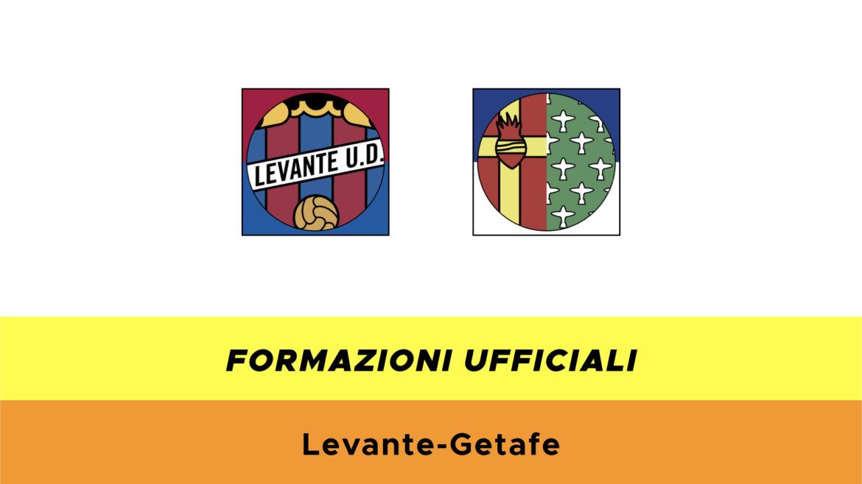 Levante-Getafe probabili formazioni ufficiali