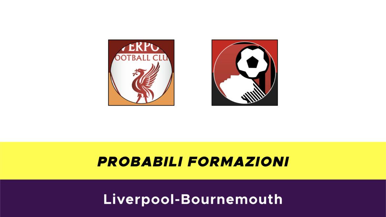 Liverpool-Bournemouth probabili formazioni