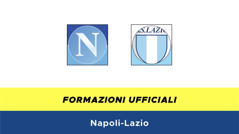 Napoli-Lazio formazioni ufficiali