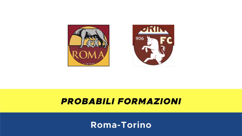 Roma-Torino probabili formazioni