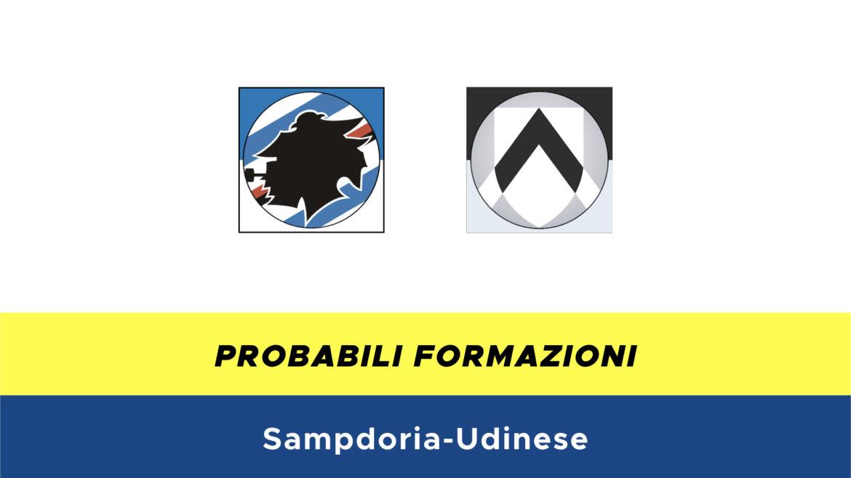 Sampdoria-Udinese probabili formazioni