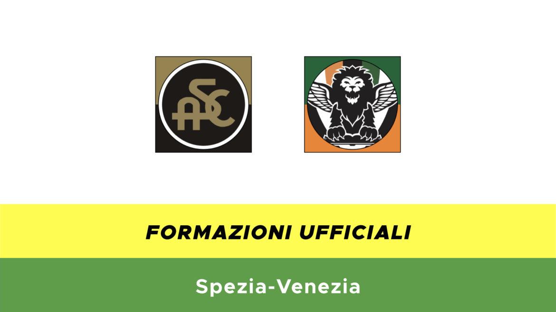 Spezia-Venezia formazioni ufficiali