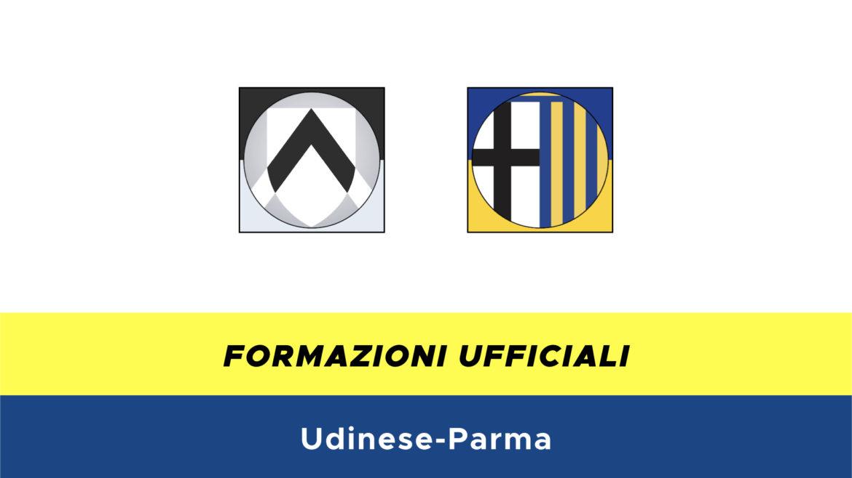 Udinese-Parma formazioni ufficiali