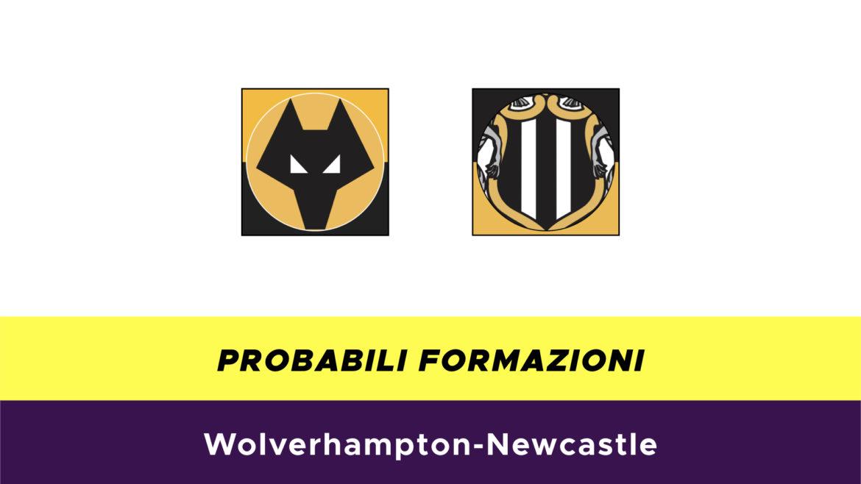 Wolverhampton-Newcastle probabili formazioni