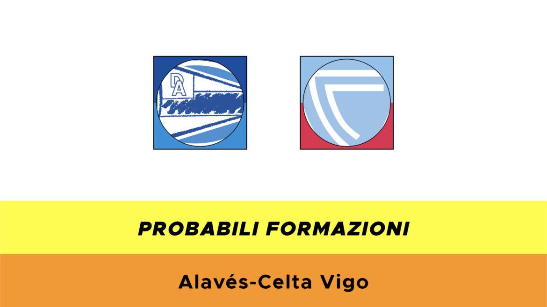 Alavés-Celta Vigo probabili formazioni