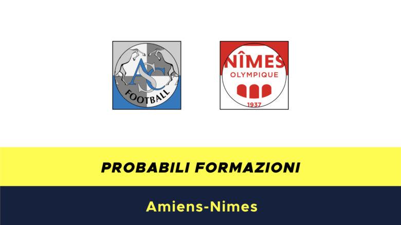 Amiens-Nimes probabili formazioni