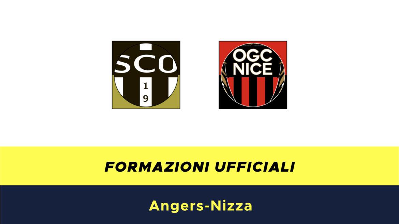 Angers-Nizza formazioni ufficiali