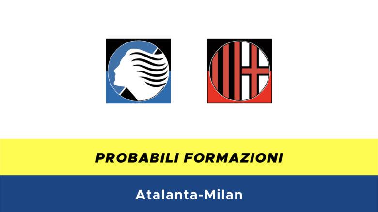 atalanta-milan probabili formazioni