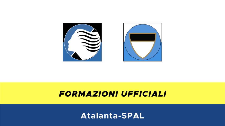 Atalanta-Spal formazioni ufficiali