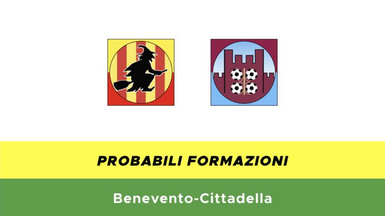 Benevento-Cittadella probabili formazioni