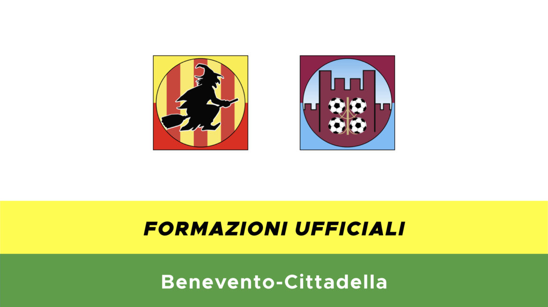 Benevento-Cittadella formazioni ufficiali