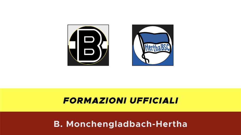 Borussia M'Gladbah-Herta formazioni ufficiali