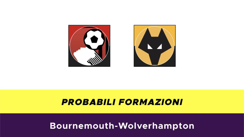 Bournemouth-Wolverhampton probabili formazioni