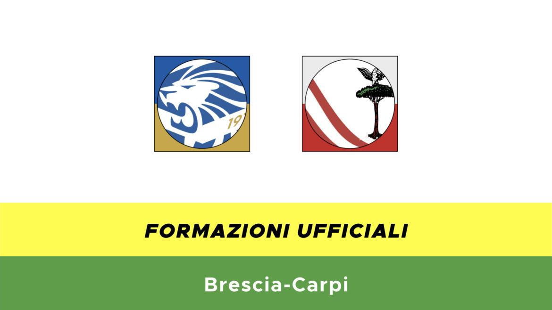 Brescia-Carpi formazioni ufficiali