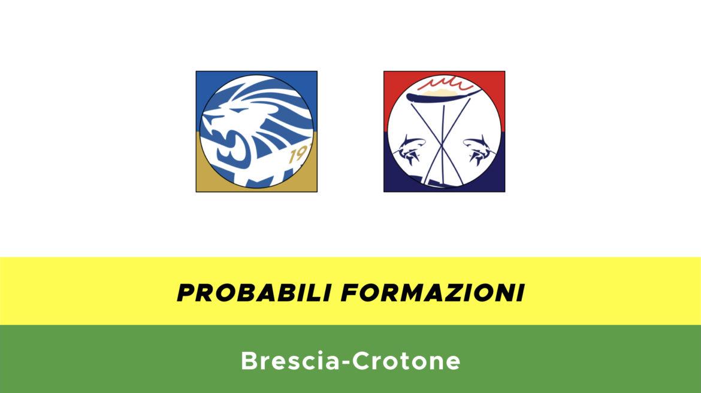 brescia-crotone probabili formazioni