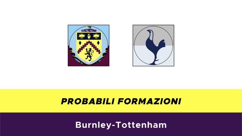 Burnley-Tottenham probabili formazioni