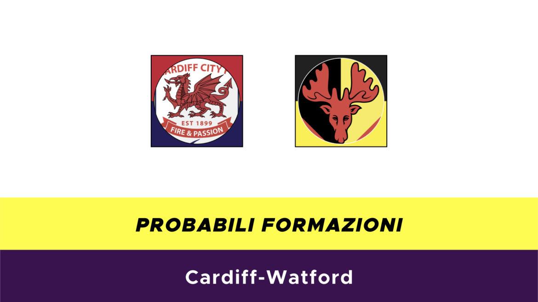 Cardiff-Watford probabili formazioni