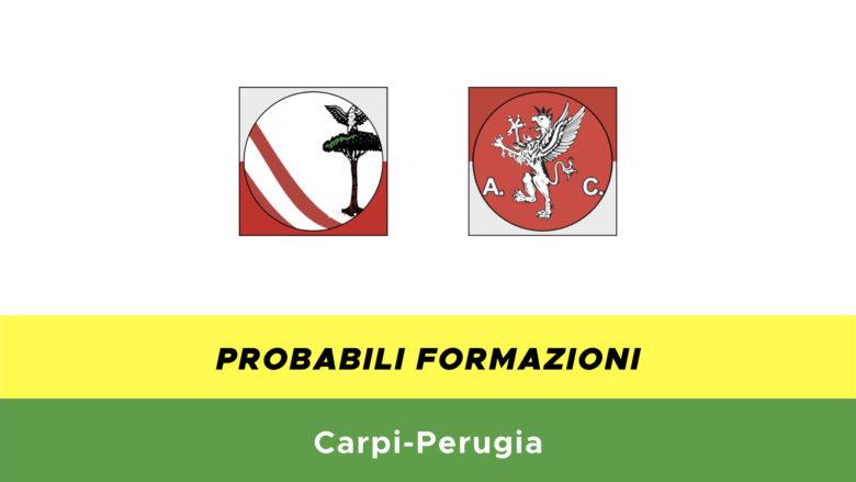 carpi-perugia probabili formazioni