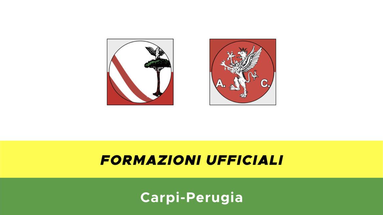 Carpi-Perugia formazioni ufficiali