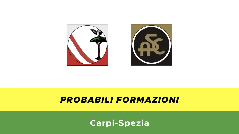 Carpi-Spezia probabili formazioni