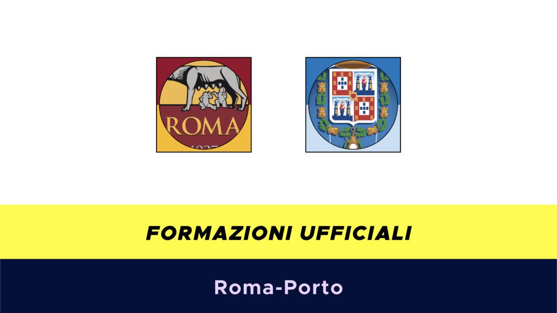 Roma-Porto formazioni ufficiali