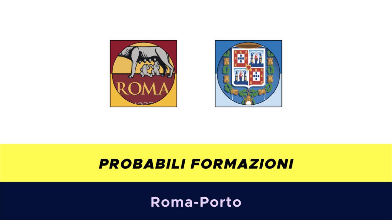 Roma-Porto probabili formazioni
