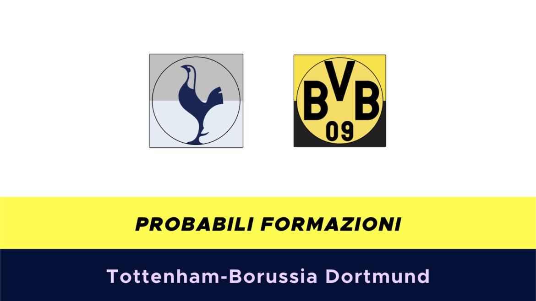 Tottenham-Borussia Dortmund probabili formazioni