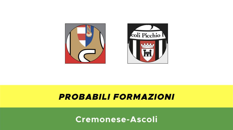 Cremonese-Ascoli probabili formazioni
