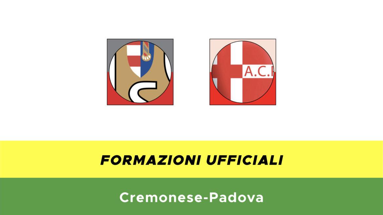 Cremonese-Padova formazioni ufficiali
