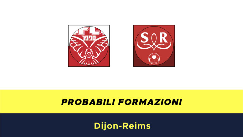 Dijon-Reims probabili formazioni