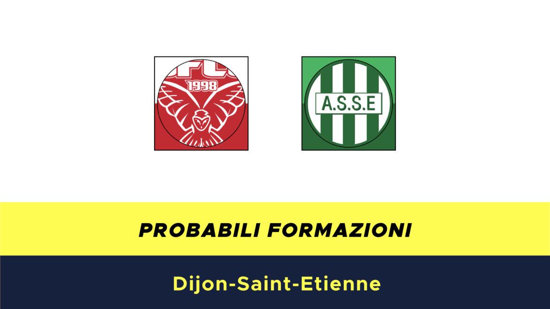 Dijon-Saint Etienne probabili formazioni