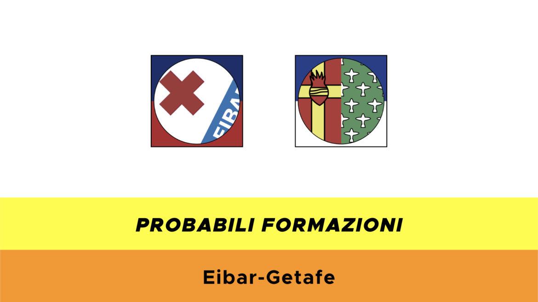 Eibar-Getafe probabili formazioni