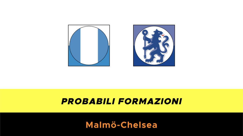 Malmo-Chelsea probabili formazioni