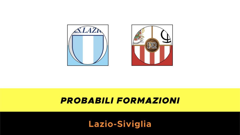 Probabili formazioni Lazio-Siviglia