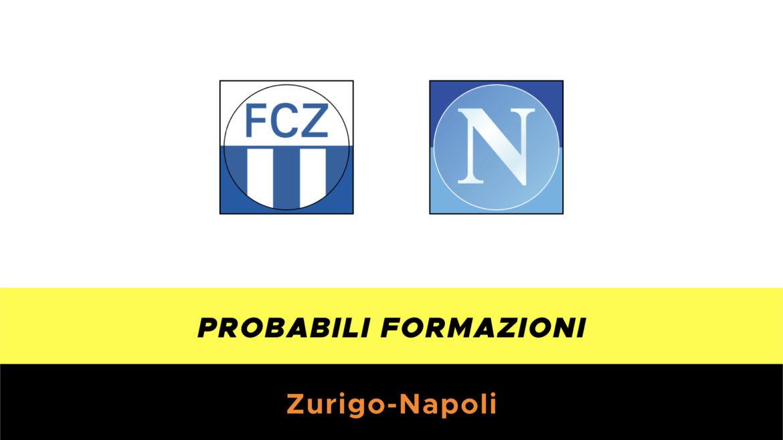 Zurigo-Napoli probabili formazioni