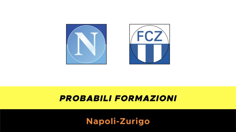 Napoli-Zurigo probabili formazioni