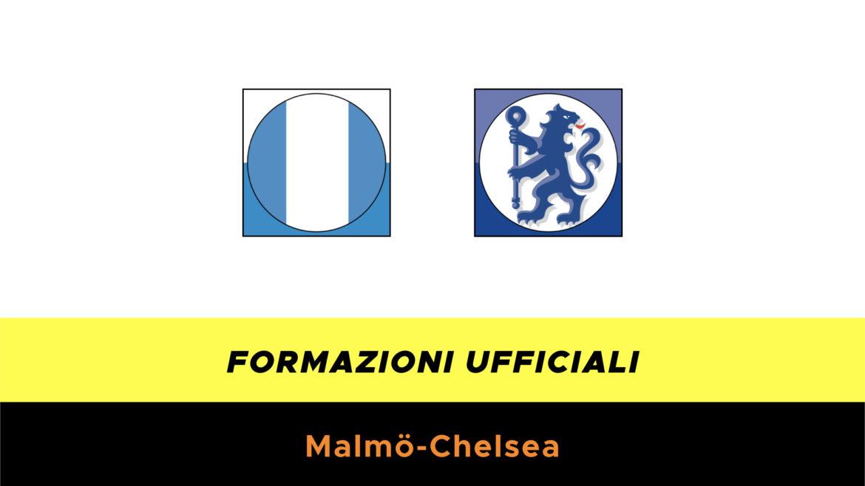 Malmo-Chelsea formazioni ufficiali