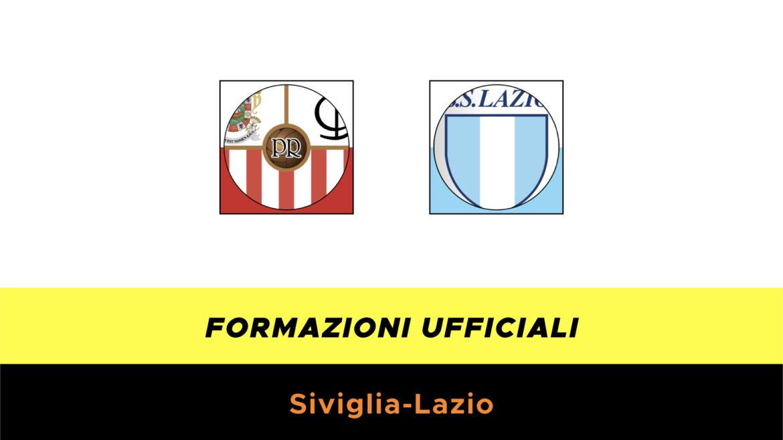 Siviglia-Lazio formazioni ufficiali