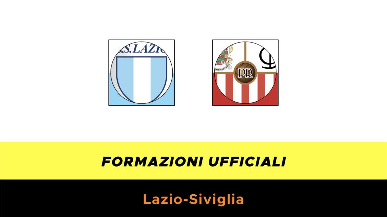 Lazio-Siviglia formazioni ufficiali