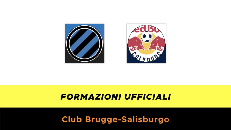 Club Brugge-Salisburgo formazioni ufficiali