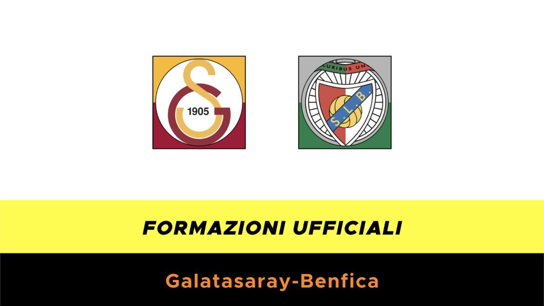 Galatasaray-Benfica formazioni ufficiali