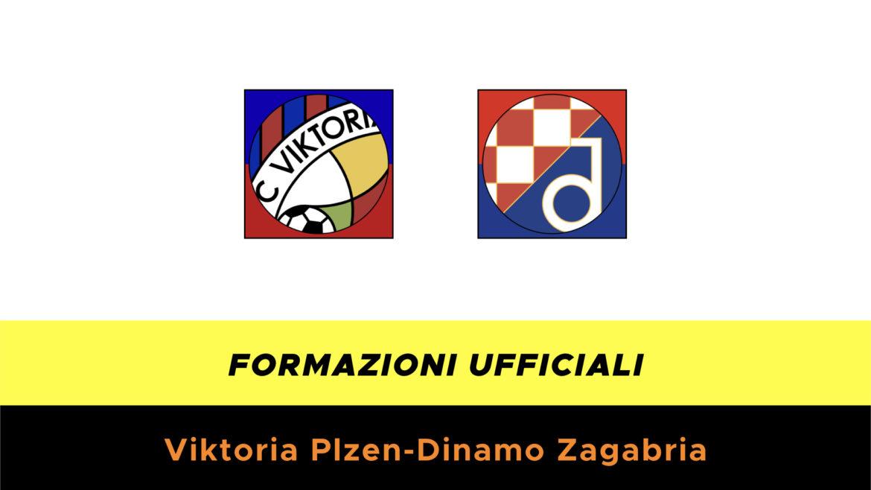 Viktoria Plzen-Dinamo Zagabria formazioni ufficiali