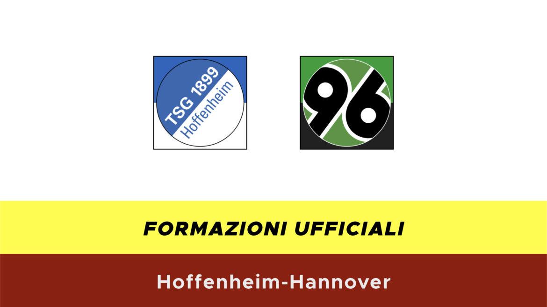 Hoffenheim-Hannover formazioni ufficiali