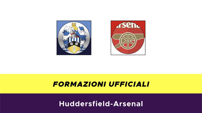 Huddersfield-Arsenal formazioni ufficiali