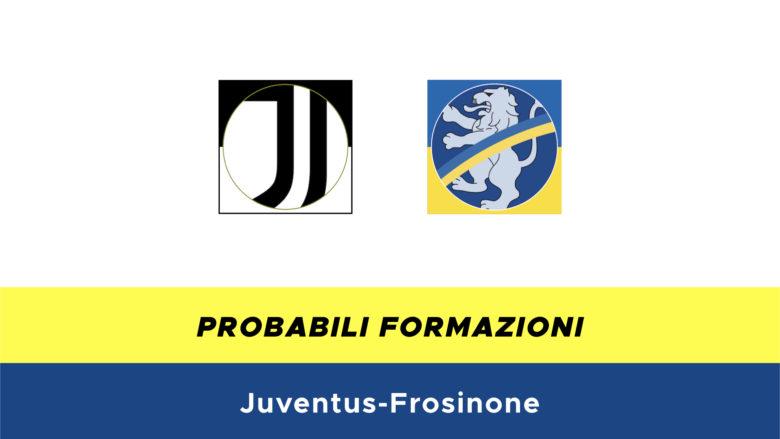 Juventus-Frosinone probabili formazioni