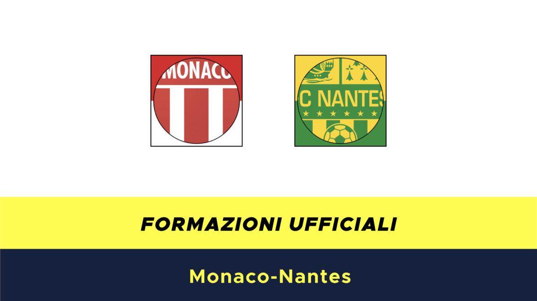 Monaco-Nantes formazioni ufficiali
