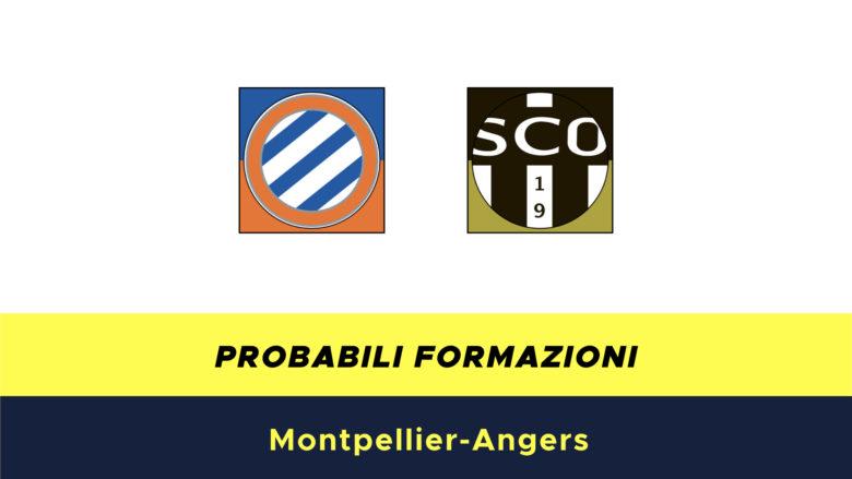 Montpellier-Angers probabili formazioni