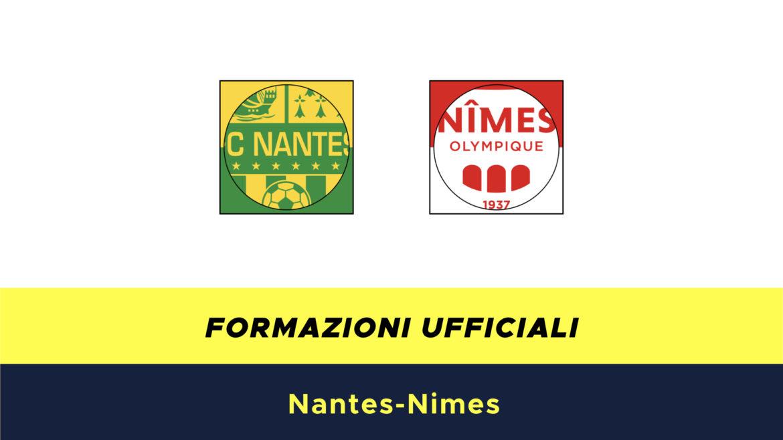 Nantes-Nimes formazioni ufficiali