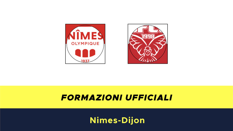 Nimes-Digione formazioni ufficiali